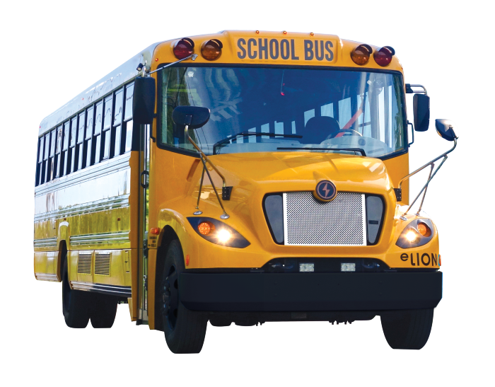 An image of a yellow school bus