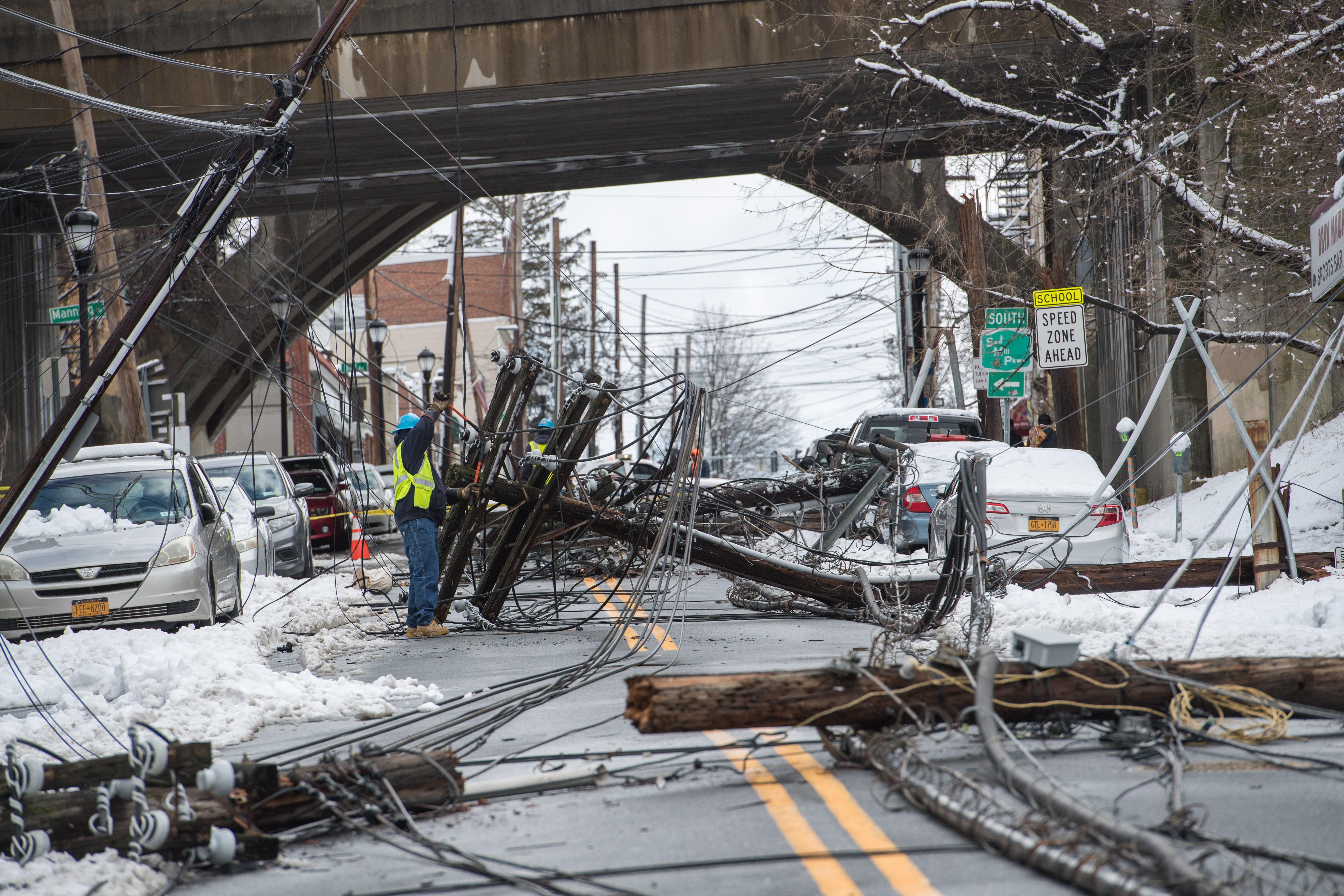 Damage from the Riley-Quinn storm events